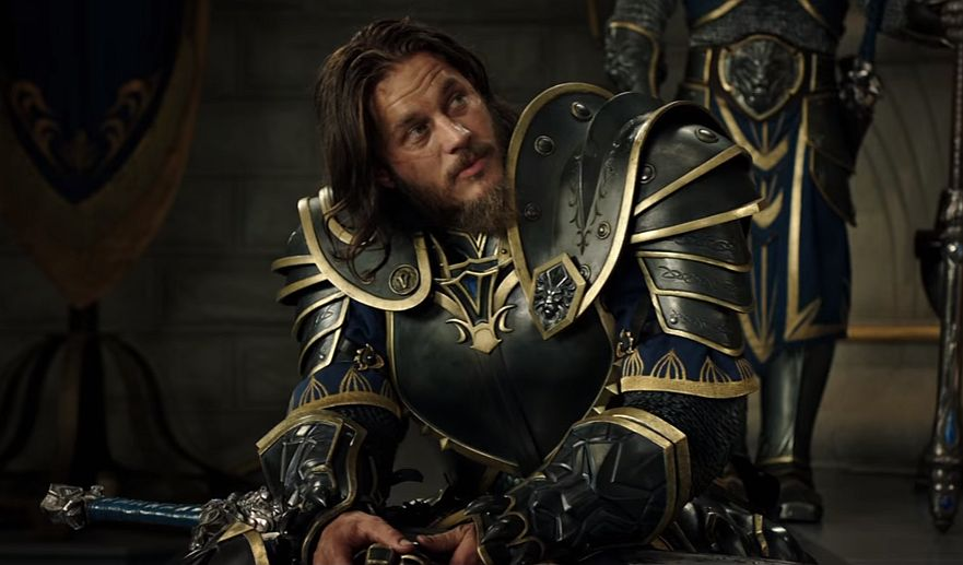 Anduin Lothbrok. I mean, Ragnar Lothar. I mean...Travis Fimmel in the Warcraft movie playing the same dude as in Vikings but with nicer armor